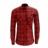 Crossbuster Plaid Flannel (Red) - Front (1000x1000)
