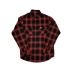 Crossbuster Flannel (Black/Red) - Flannel (1000x1000)