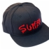 Suffer Snapback Hat (Black) - Front (1000x1000)