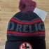 Bad Religion crossbuster beanie (Black/gray/red) - Full (720x960)