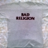 Bad Religion - Big Loud Shit Tour Tee (Light Gray) - Front (1199x1000)