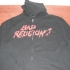 Zipped hoodie with Angry Andy design - Front (1000x750)
