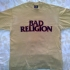 Bad Religion -text Tee (Beige) - Black (1191x965)
