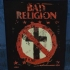 Bad Religion Newsprint Crossbuster -Backpatch - Backpatch (552x630)