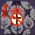Crossbuster - Bad Religion Dark Blue/Gray Tie Dye Tee (Dark Blue/Gray Tie Dye) - Front (1002x1000)