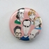 Band Caricature -Button - Button (1067x800)