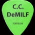 Guitar Pick - Crossbuster C.C. DeMILF - Back (170x200)