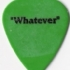 Guitar Pick - Crossbuster Whatever - Whatever (215x249)