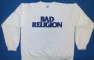 Sweater with Bad Religion text logo - Front (1568x1000)