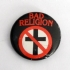 Bad Religion - Crossbuster -Button - Crossbuster button (1000x750)