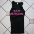 Bad Religion - Text Girlie Tee (Black) - Front (1000x750)