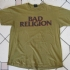 Bad Religion - Text Tee (Olive Green) - Front (1000x750)