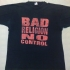No Control Album - Epitaph (Red Print) Tee (Black) - Front (1237x952)