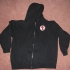 Zipped hoodie with crossbuster patch - Front (1000x750)