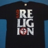 Bad Religion Stacked Logo Tee (Black) - Front (1261x1000)