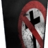 Cracked Crossbuster -Backpatch - Worn CB Backpatch (285x364)