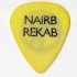 Guitar Pick - CB Naird Rekab - Guitar Pick (400x392)