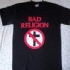 Bad Religion Crossbuster - Bad Religion Flames Tee (Black) - Front (245x239)