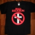 Bad Religion Crossbuster Tee (Black) - Front (640x570)