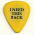 Guitar Pick - Crossbuster I Need This Back - No title (264x300)