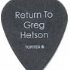 Guitar Pick - Return To Greg Hetson -  (93x114)