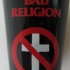 Bad Religion Crossbuster Ceramic Shotglass - Front (673x1000)