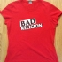 Bad Religion Girlie Tee (Red) - Front (698x756)