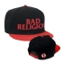 BR text logo snapback hat - Front And Back (600x600)