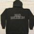 Hoodie with Bad Religion Text Logo (Black) - Front (931x1000)