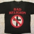Crossbuster - Bad Religion with Crossbuster Tee (Black) - Front (1266x938)