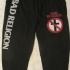 Bad Religion Text and Crossbuster -Sweat Pants (Black) - Sweat Pants (624x1000)