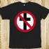 Crossbuster Tee (Black) - Front (760x760)