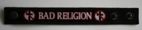 Bad Religion 2 Crossbusters -Wristband/Bracelet - Spreaded (1336x286)