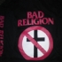Crossbuster - Bad Religion Sleeves (Black) - Front (500x375)