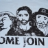 Come Join Us - Bad Religion Tee (Light Blue) - Front (800x536)