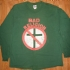 Bad Religion Crossbuster Tee (Green) - Front (999x926)