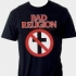 Bad Religion Crossbuster Tee (Black) - Front (707x732)