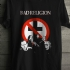 Crossbuster Band Shot Tee (Black) - Front (754x1000)