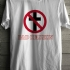 Crossbuster Bad Religion Logo Tee (White) - Front (748x1000)