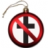Crossbuster Tree Ornament - Sales Pic (400x400)