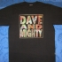 Dave And Mighty No Control T-Shirt - Front (1210x1000)