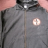 Zipped hoodie with Crossbuster and Bad Religion -text (Black) - Front (375x500)