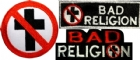 Set of 3 Bad Religion patches - Patch set (600x257)