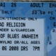4/6/2008 - Anaheim, CA - ticket