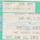 1/16/1993 - Seattle, WA - Untitled