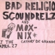 4/27/1983 - Hollywood, CA - Show flyer