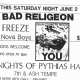 6/2/1984 - Fort Worth, TX - Show flyer