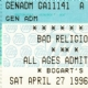 4/27/1996 - Cincinnati, OH - Untitled