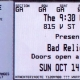 10/14/2007 - Washington, D.C. - ticket